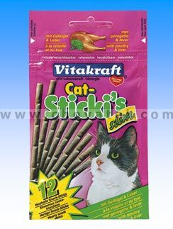Vitakraft cat Sticks slim poultry + liver