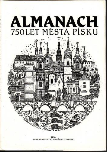 Almanach 750 let města Písku cena od 150 Kč