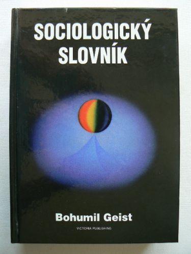 Sociologický slovník cena od 300 Kč