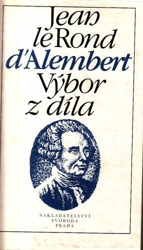 Jean le Rond d Alembert Výbor z díla cena od 135 Kč