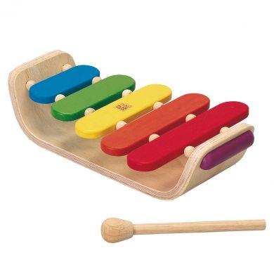 PLANTOYS oválný xylofon