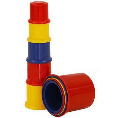 JOHNTOY Happy World skládací věž cena od 135 Kč
