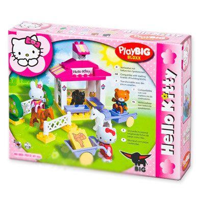 BIG PlayBig Hello Kitty Koňská farma cena od 399 Kč