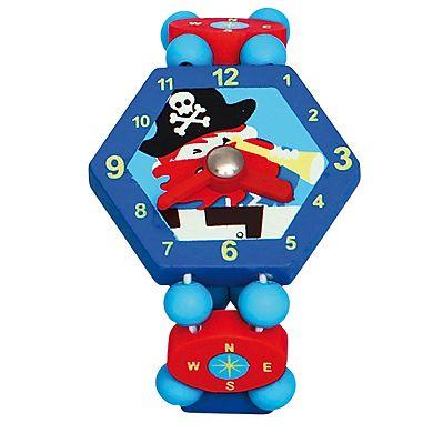 BINO Dětské hodinky Pirat cena od 38 Kč