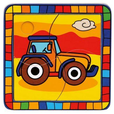 Puzzle traktor cena od 55 Kč