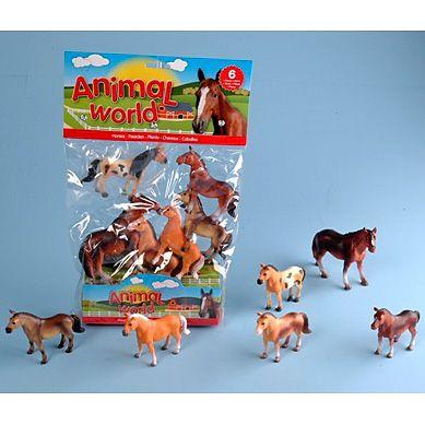 JOHNTOY Animal World koně cena od 135 Kč