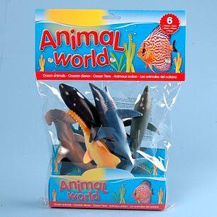 JOHNTOY Animal World mořské živočichy