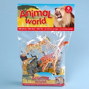 JOHNTOY Animal World divoká zvířata