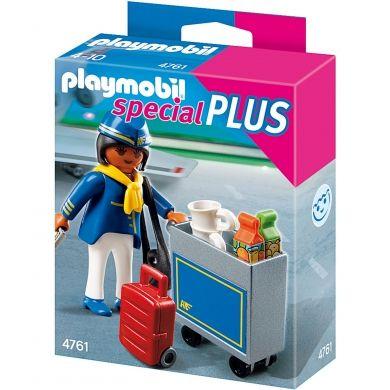 PLAYMOBIL Letuška s vozíkem 4761 cena od 65 Kč