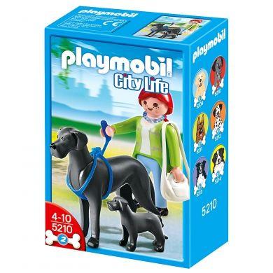 PLAYMOBIL Doga se štěnátkem 5210 cena od 127 Kč