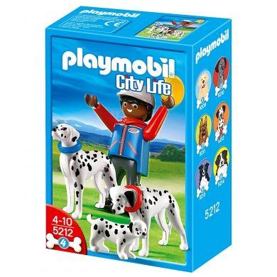 PLAYMOBIL Dalmatin se štěnátkem 5212 cena od 99 Kč