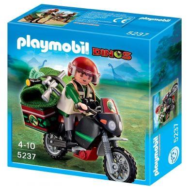 PLAYMOBIL Motorka pro průjezd dinosauří krajiny 5237 cena od 149 Kč
