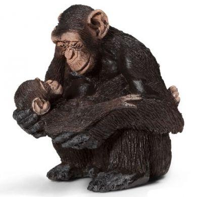 SCHLEICH Opice šimpanze s opičkou 14679 cena od 127 Kč