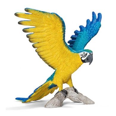 SCHLEICH Papoušek Ara se žlutou náprsenkou 14690 cena od 119 Kč
