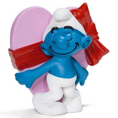 SCHLEICH Šmoula s valentýnským srdcem 20747 cena od 44 Kč