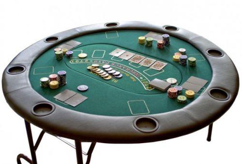OEM Profesionální rozkládací pokerový stůl