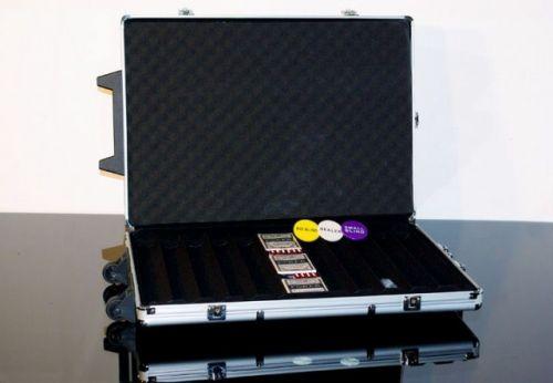 OEM Hliníkový kufr na 1000 ks žetonů s příslušenstvím Trolley