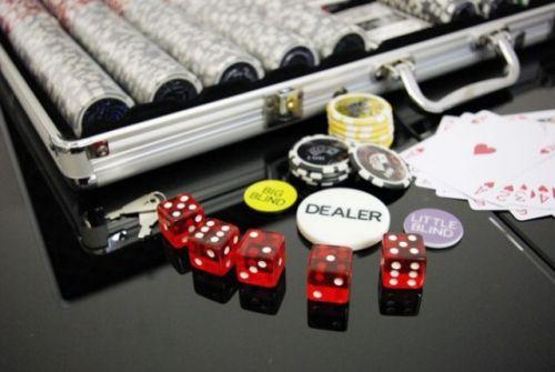 OEM Poker set 1000 ks žetonů OCEAN hodnoty 5 - 1000