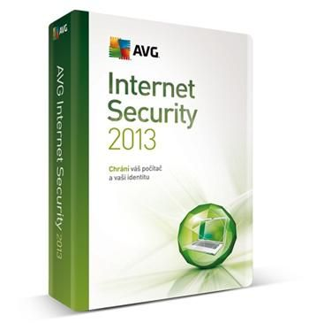 AVG Internet Security 2013 1 licence