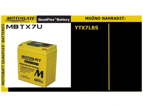 Motobatt MBTX7U