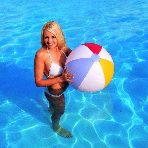 OEM Nafukovací míč s pruhy 61 cm cena od 31 Kč