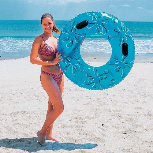OEM Nafukovací kruh s držadly 107 cm