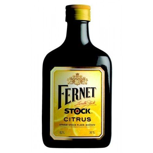 Fernet Stock Citrus 0,2 L cena od 69 Kč