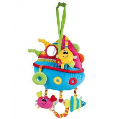 Canpol babies plyšová edukační hračka loďka cena od 0 Kč