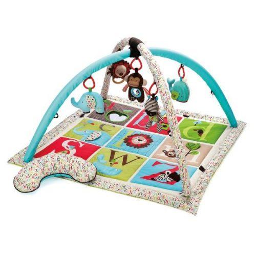 Skip Hop ABC Zoo Deka hrací s hrazdou