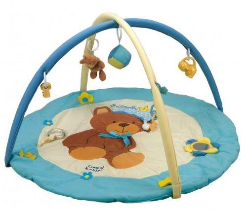 Canpol babies hrací deka s hrazdičkou Medvídek