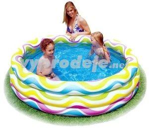 SEDCO Bazén INTEX Color Wave 168x41 cm
