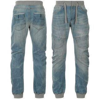 Airwalk Cuffed Jeans Mens kalhoty