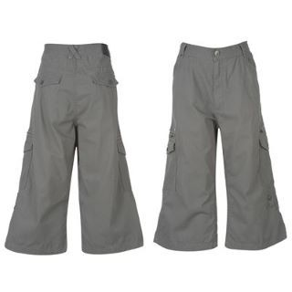 Airwalk Three Quarter Combat Pants Junior kalhoty