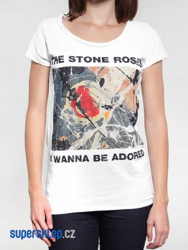 Amplified Stone Roses Wanna Be Adored triko