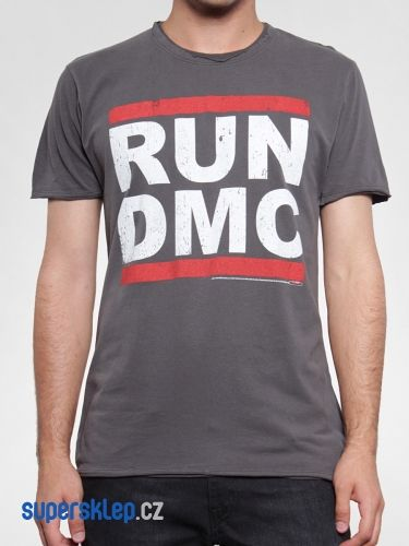 Amplified T-Shirt Run DMC Logo triko