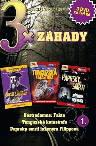 3x DVD - Záhady 1.