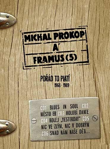 Prokop Michal: Pořád to platí 1968 - 1989 - 6CD - Prokop Michal