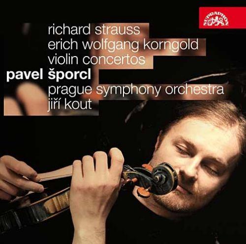 Šporcl Pavel: Houslové koncerty - Korngold/Strauss - CD - Šporcl Pavel