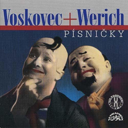 Jan Werich, Jiří Voskovec: Písničky - CD - Jan Werich