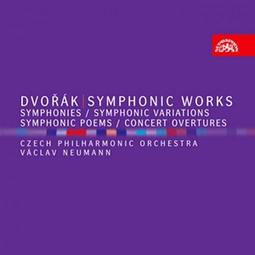 Dvořák Antonín: Kompletní symfonie, Symfonické básně, Symfonické variace, Koncertní předehry - 8CD - Dvořák Antonín