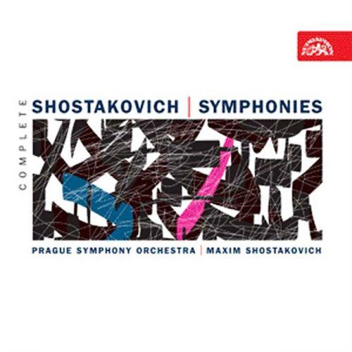 Šostakovič Dmitrij: Symfonie - komplet - 10CD - Šostakovič Dmitrij