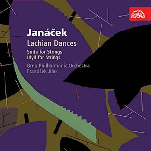 Leoš Janáček: Orchestrální dílo I - Lašské tance, Suita pro smyčce, Idyla - CD - Leoš Janáček