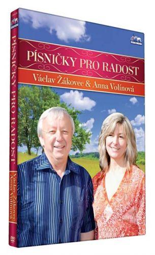 Václav Žákovec - Písničky pro radost - 1 DVD