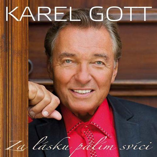 Karel Gott: Za lásku pálím svíci - 2CD - Karel Gott