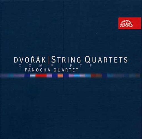 Dvořák Antonín: Souborné vydání smyčcových kvartetů - 8CD - Dvořák Antonín