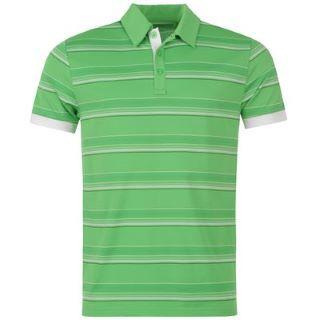 Antigua Stripe Golf triko