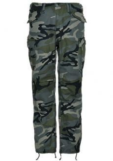 Vintage Industries M65 Heavy Satin kalhoty