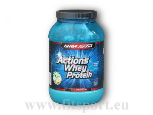 Aminostar Actions Whey Protein 2000 g
