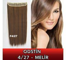 Clip in vlasy - 60 cm dlouhý pás vlasů - odstín 4/27 - melír SVĚTOVÉ ZBOŽÍ