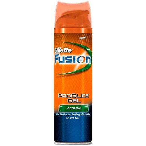 Gillette Chladivý gel na holení Fusion Proglide Gel Cooling (Shave Gel) 200 ml